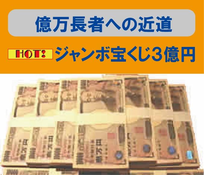 3億円宝くじで夢実現